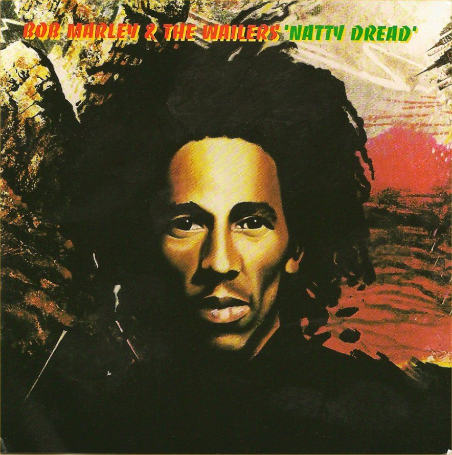 Bob Marley Natty Dread 1974 Album Art Bob Marley Natty