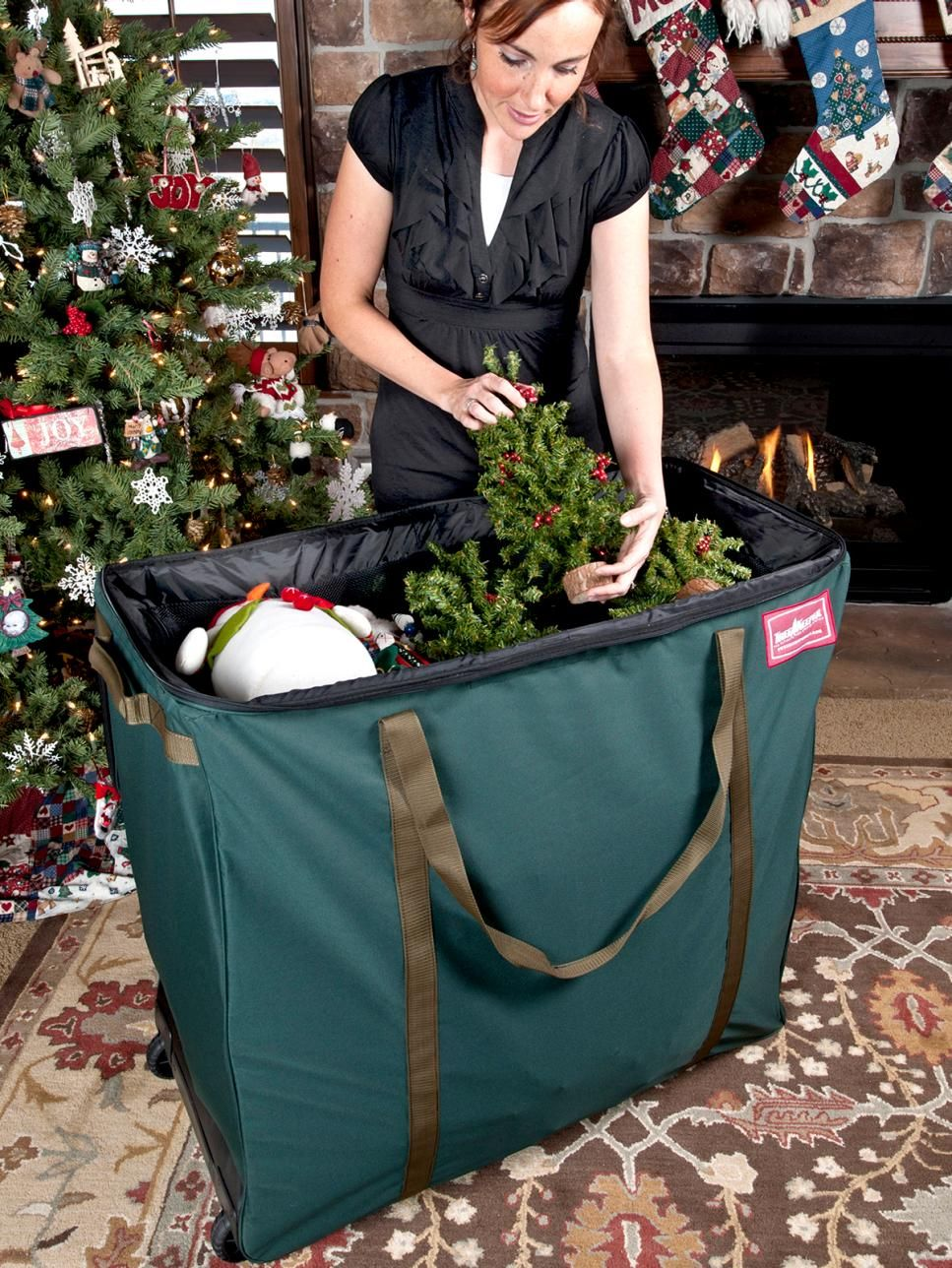 Tips Tricks And Gadgets For Storing Christmas Decorations Storing Christmas Decorations Christmas Decoration Items Large Christmas Decorations