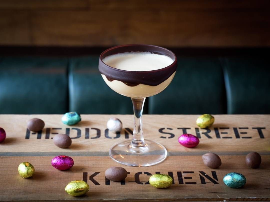 honey bunny easter cocktail recipe