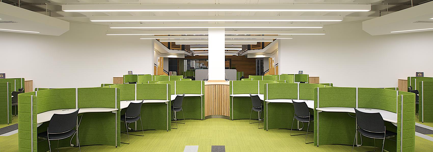 Lancaster University Library Hacel Lighting Lancaster