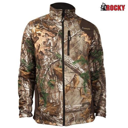 3094beea827b9 Rocky Pro Hunter Reversible Fleece Jacket (M)- RTX, Men's, Size: Medium,  Realtree Xtra