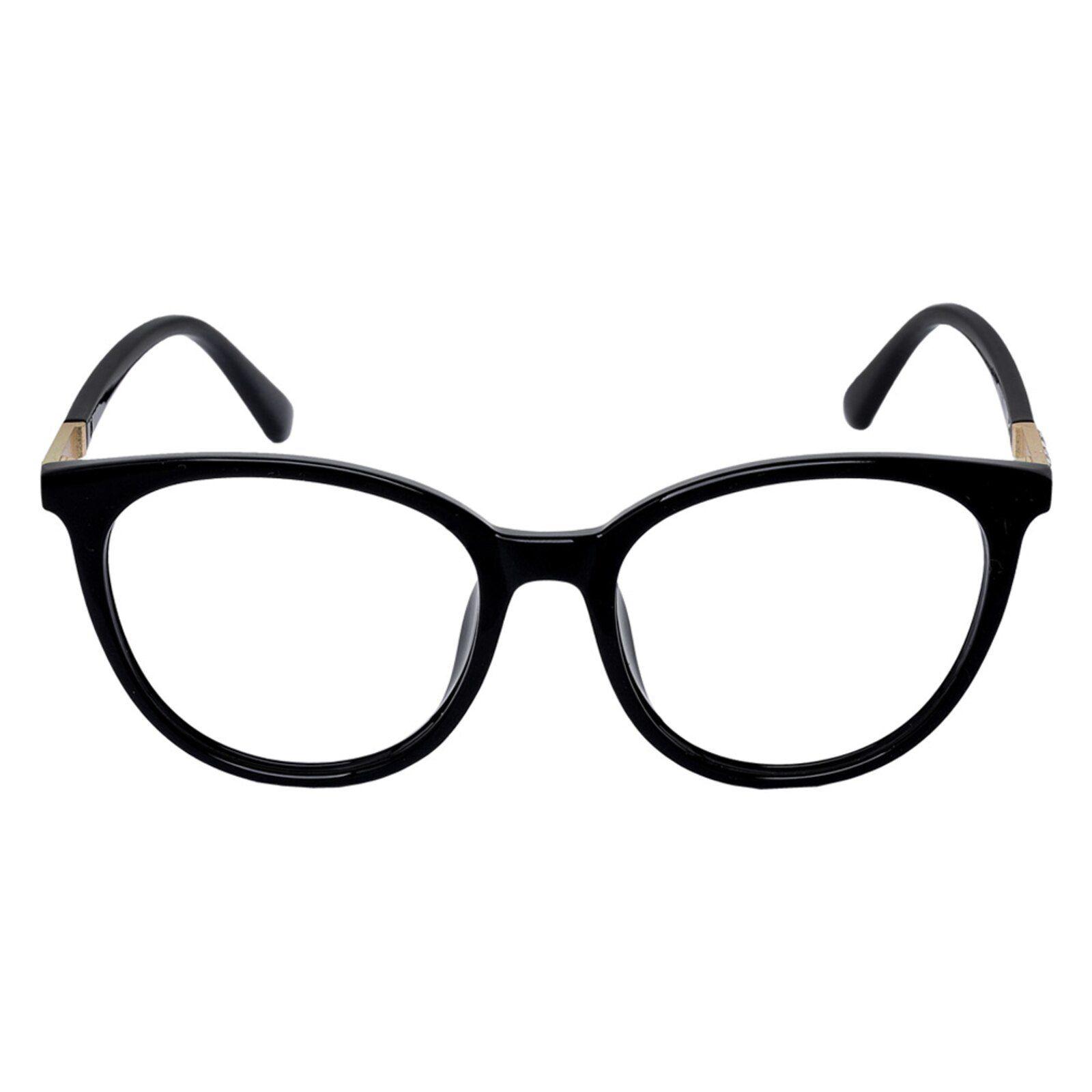 Armacao Oculos Para Grau Redondo Retro Preto 0608 Em 2020