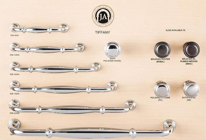 New Tiffany Series Decorative Hardware Collection By Jeffrey