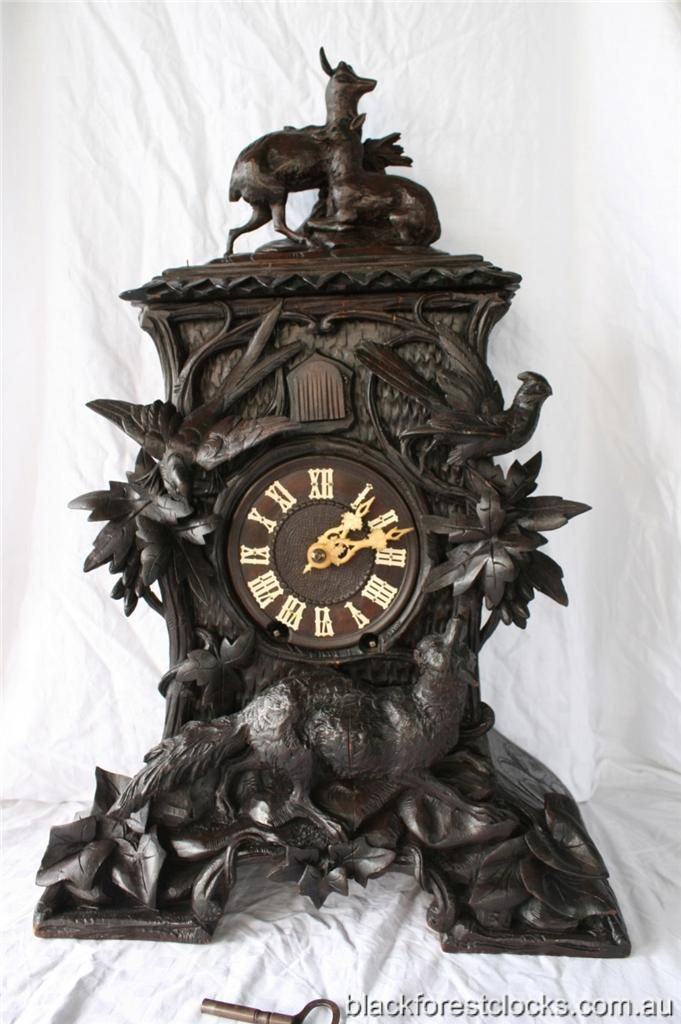 clocks Vintage black forest cuckoo