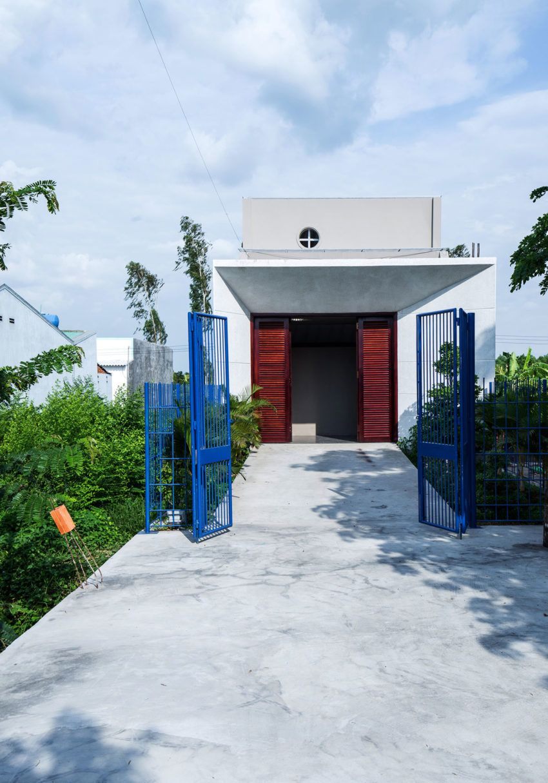 23o5 Studio entwirft ein Zuhause weg von der Stadt in Vietnam | Haus ...