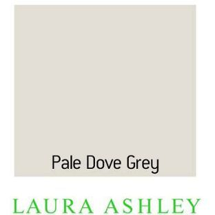 Laura Ashely Standard Pale Dove Grey Egg Shell 0 75l From