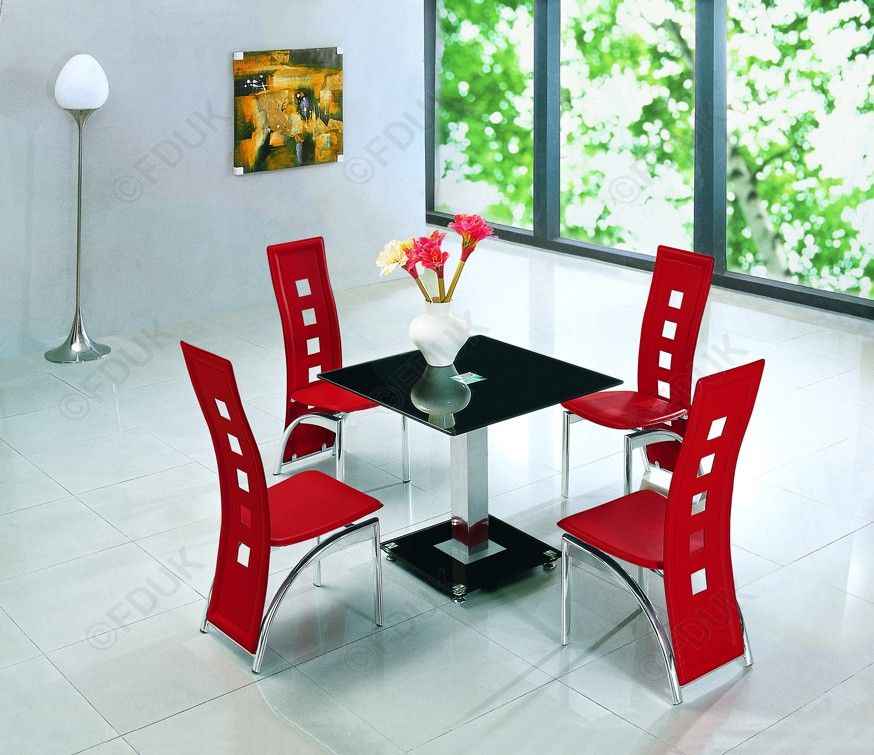 Jet 4 Seater Dining Set Is A Stunning, Robust Dining Set That Provides  Ample Space