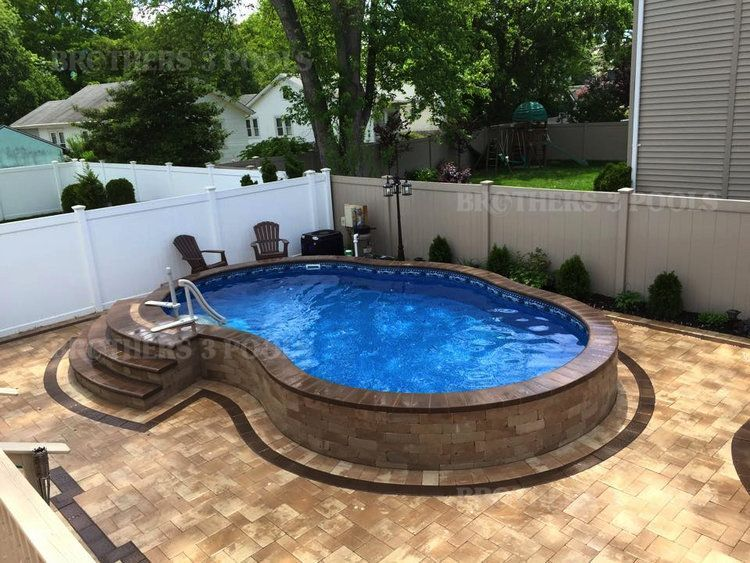 Visit The Relaxation Pool Whose Atypical Design And Water Temperature Will Provide A Unique Experience And Diy Swimming Pool Small Inground Pool Backyard Pool
