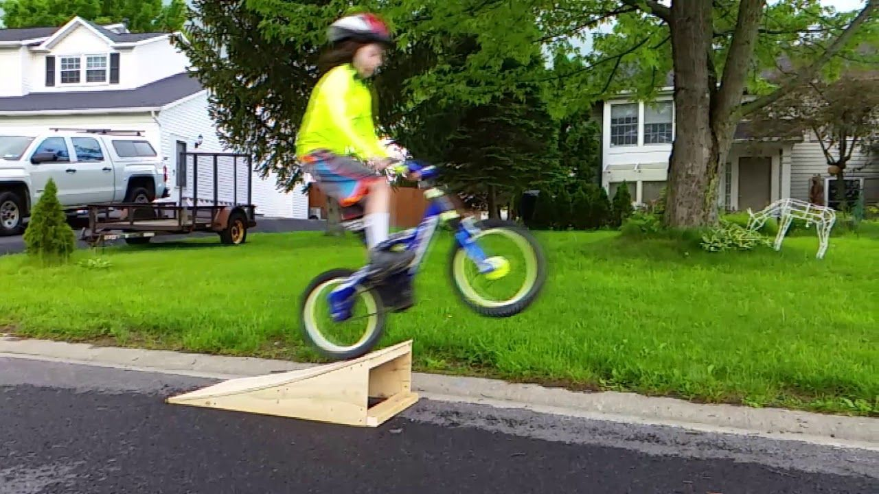How To Build A Bicycle Ramp Bmx Diy Mtb Ramps Bikeramp Ramp