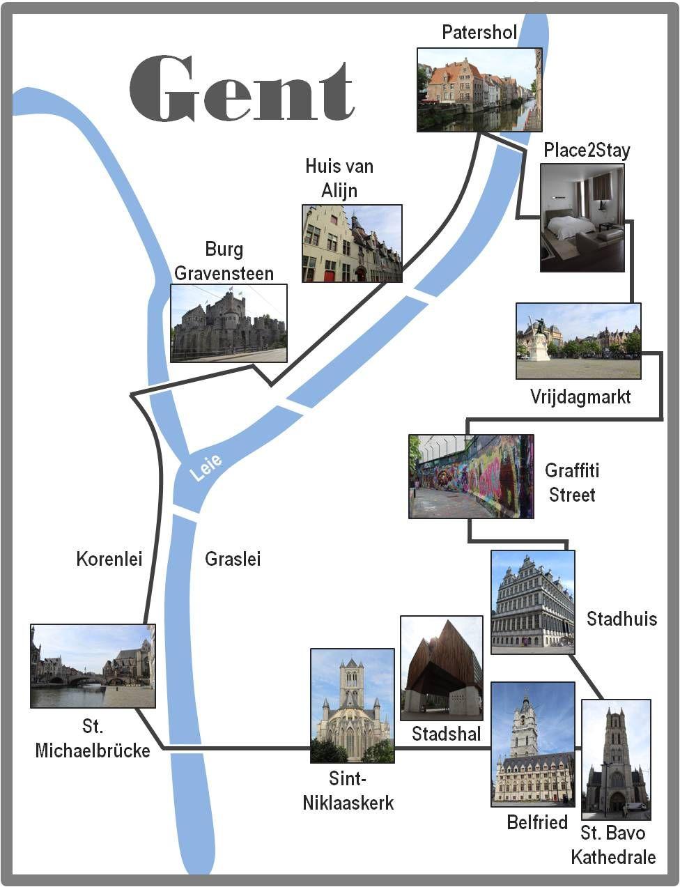 24 Stunden In Gent Ein Stadtrundgang Auf Eigene Faust Stadt