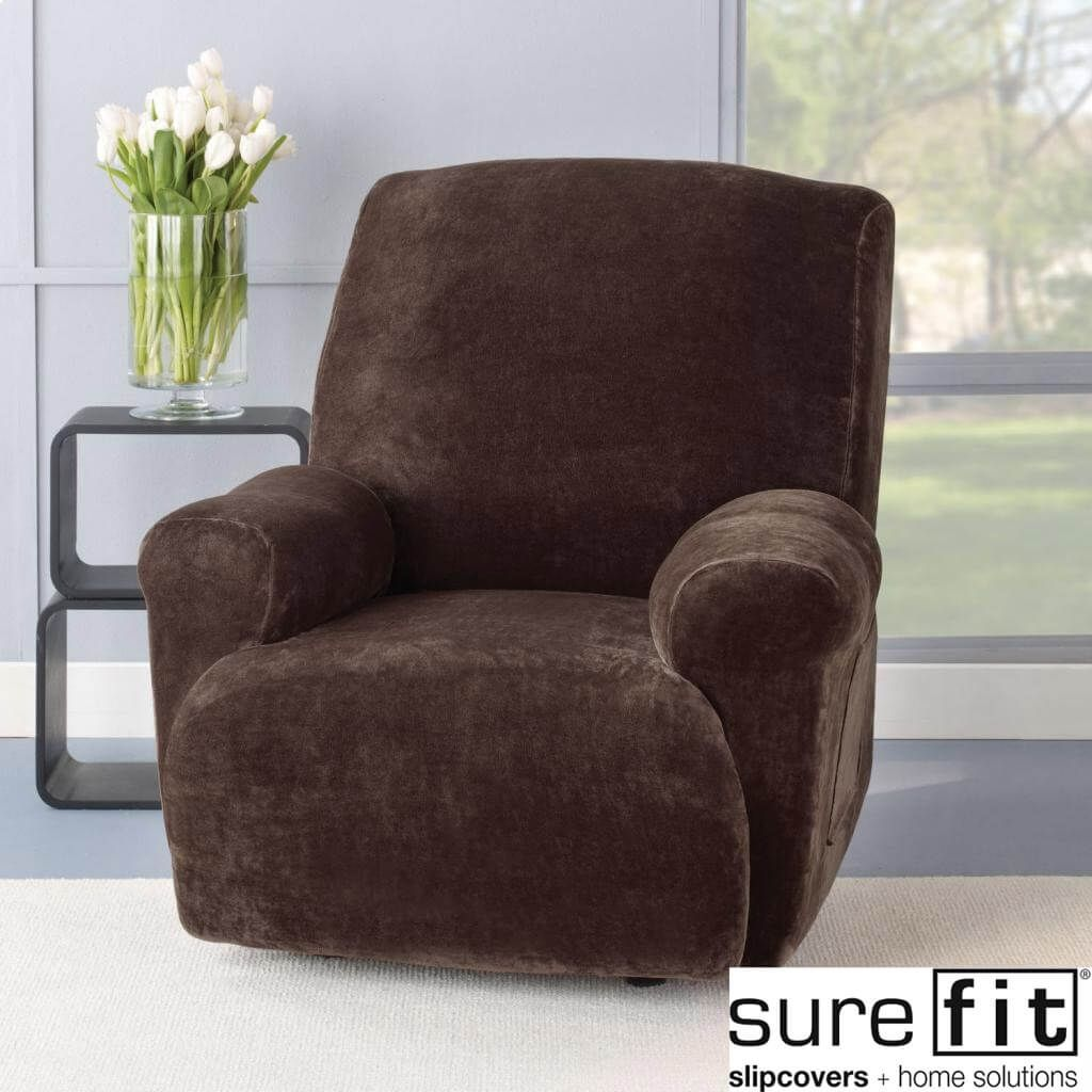 Sure Fit Plush Chocolate Sofa Throw Slipcover Http Ml2r Com