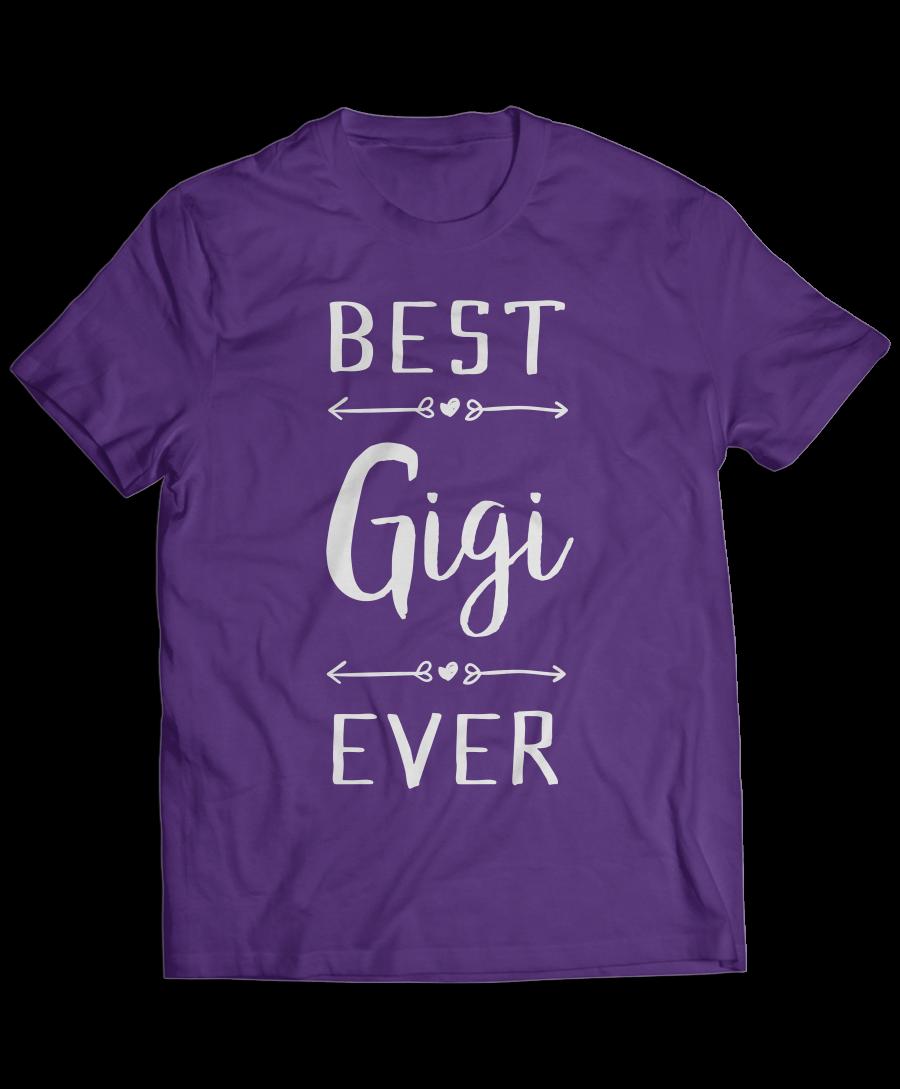 Best Gigi Ever Grandparents T-Shirt
