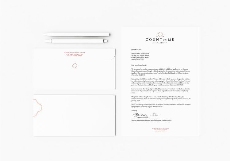 letterhead design for count on me formal letterhead design mailing branding letterhead branding kit traditional letterhead simple