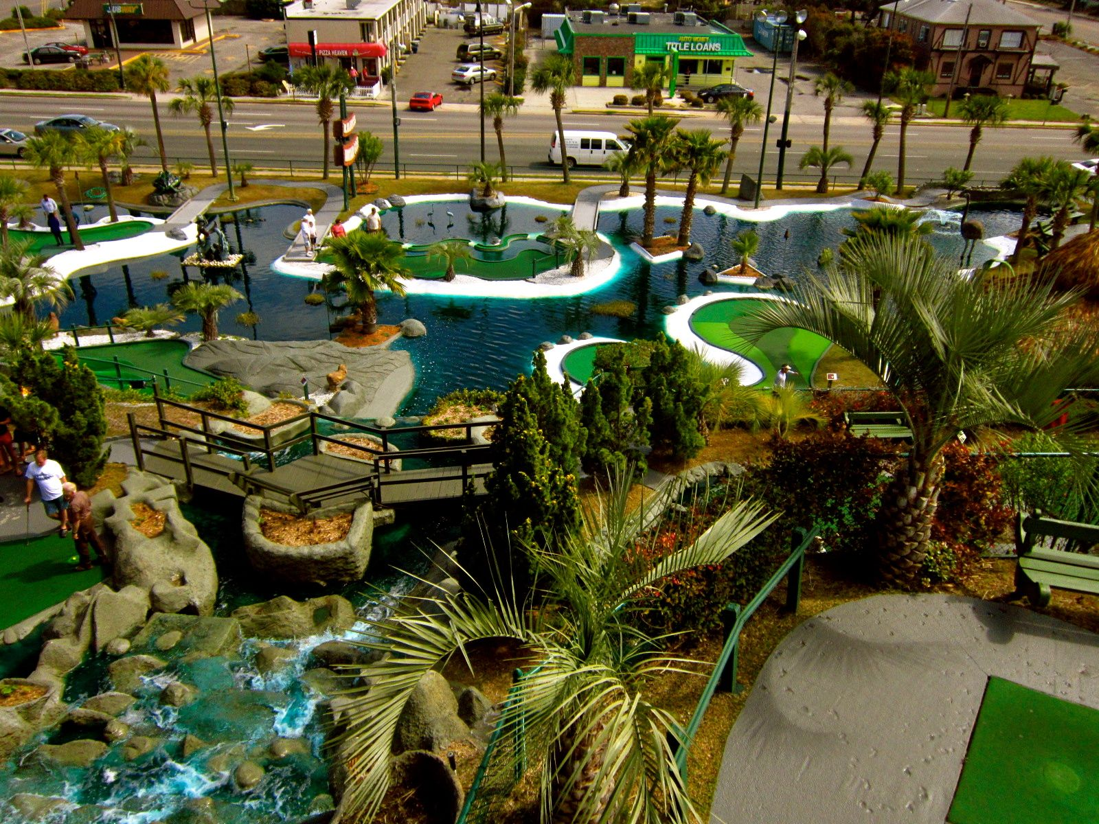 Today Is Miniature Golf Day On September 21st Here S A Pretty Nice Miniature Golf Course Myrtle Beach Miniature Golf Miniature Golf Course