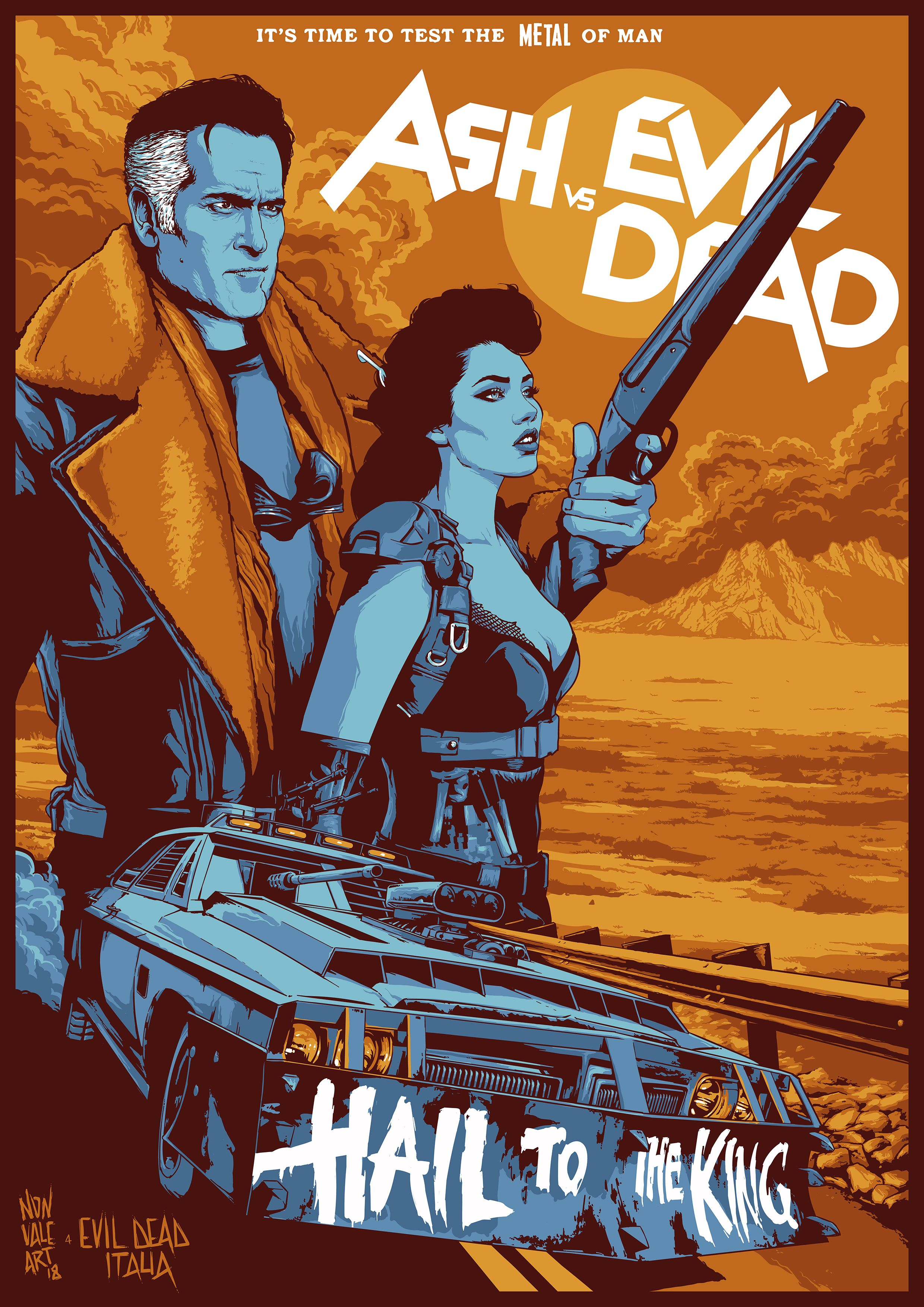 This Is A Poster To Celebrate The Final Of The Third Season Of Ash Vs Evil Dead The Series Of Bruce Ca Evil Dead Movies Ash Evil Dead Bruce Campbell Evil