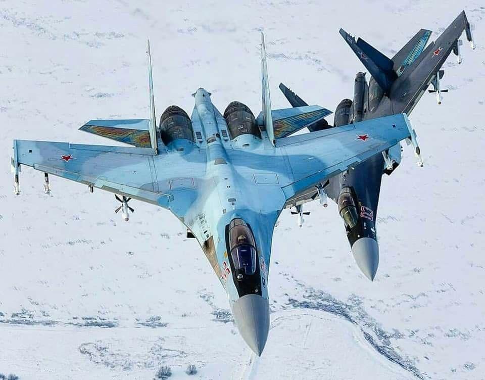 """Russian Air Force Sukhoi Su-35S """"Flanker-Es"""" (com imagens ..."""