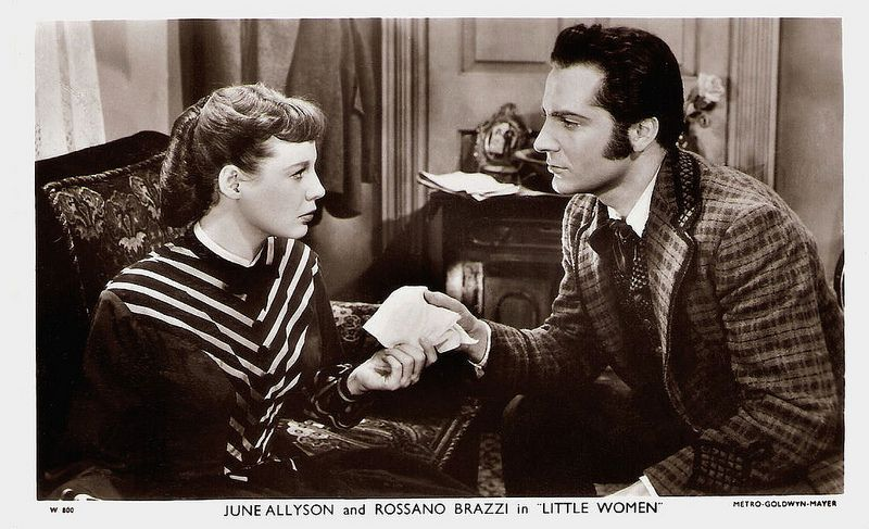 Rossano Brazzi and June Allyson in Little Women | June allyson, Louisa may  alcott, Women