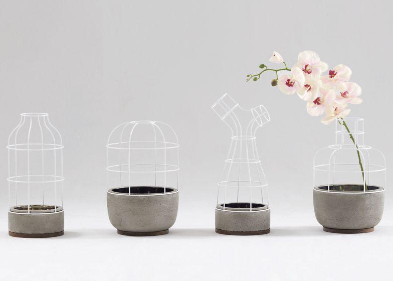Furniture vase interior design home decor flower v4 for Teng yong interior design decoration