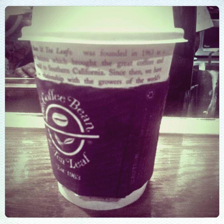 Cafe Mocha From Coffee Bean And Tea Leaf Coffee Coffee Addict Tea Leaves