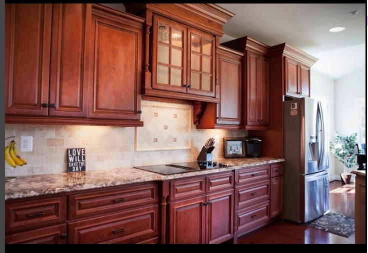 Kitchen Cabinet Display For Sale bridgewater cherry visit store » river run | kitchen cabinets