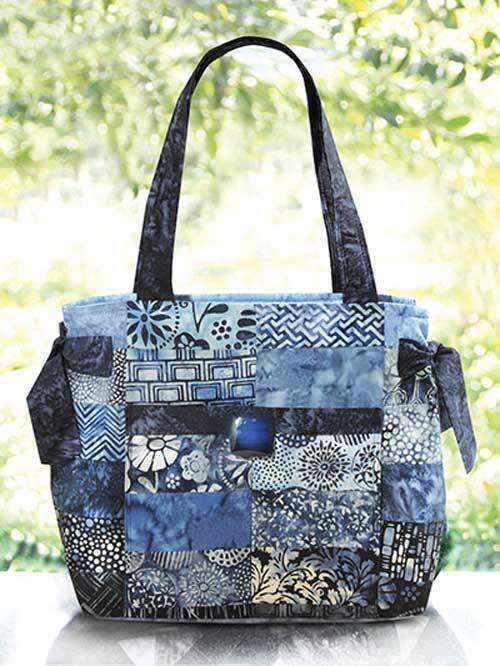 Hamptons Handbag Sewing Pattern | Charm pack, Sewing patterns and Bag