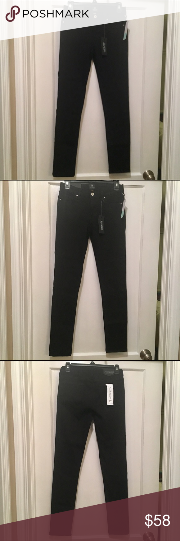 e211a28c182d Just Black Cordelia Skinny Jean NWT from Stitch Fix. Rich black denim.  Super skinny fit with stretch. Jeans Skinny