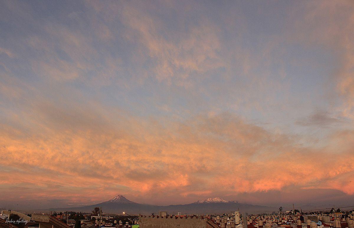 Descubriendo al cielo de maneras diferentes, cuando empieza y acaba el día.