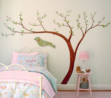 Pottery Barn Kids Wall Decalsthese Really Are The Best Thing To - How to put up a tree wall decal