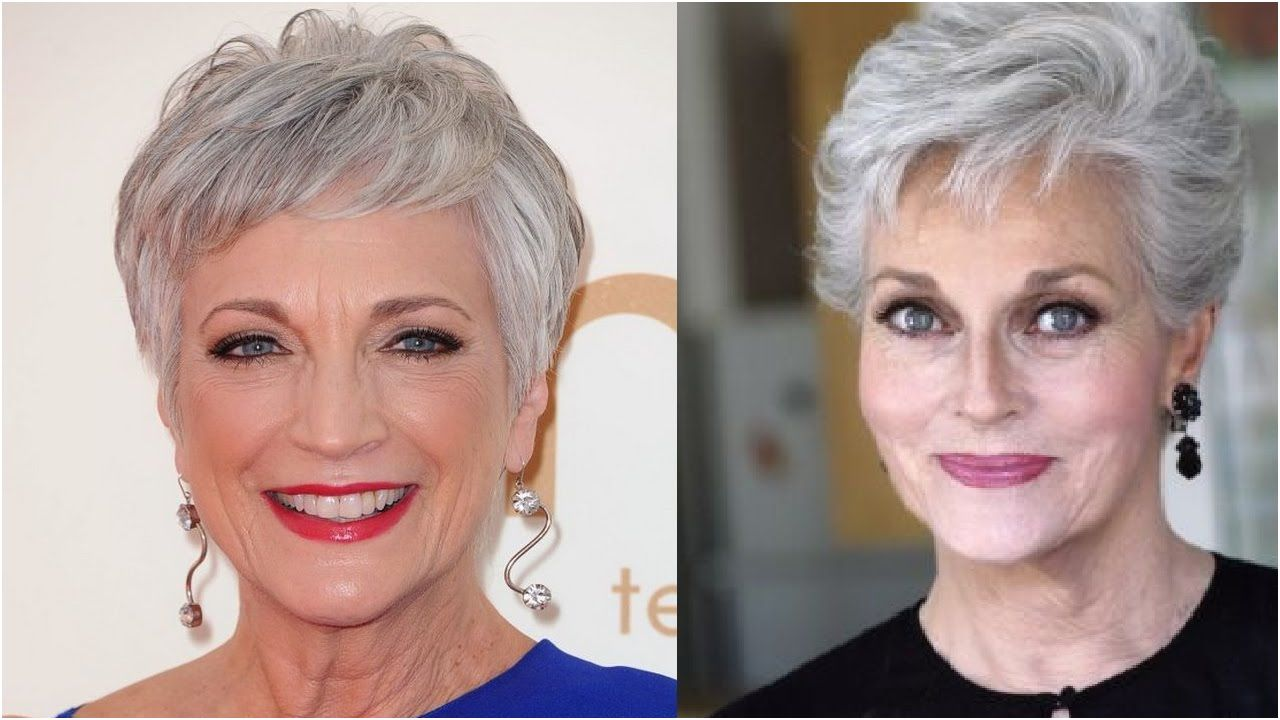 35+ Short hairstyles for older women with curly hair inspirations