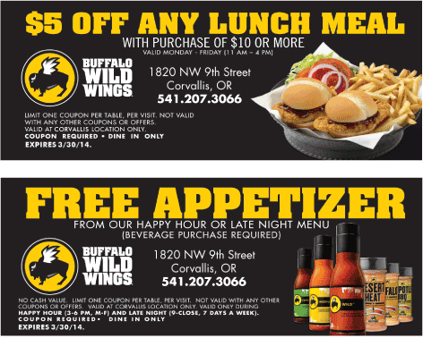 photograph about Buffalo Wild Wings Printable Coupons called Pin as a result of Chot Woos upon Buffalo wild wings inside 2019 Buffalo