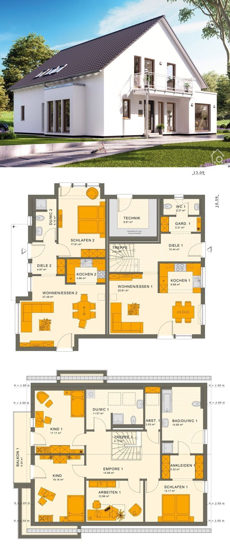 Modernes Mehrgenerationenhaus SOLUTION 230 V3
