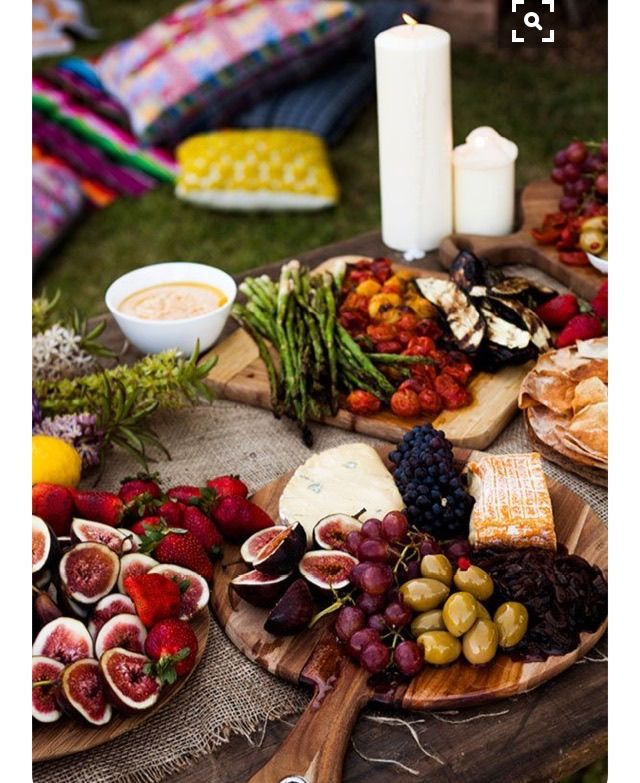 Summer Menu Ideas For Dinner Party Part - 35: Beautiful Spread For An Outdoor Cocktail Party
