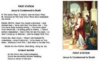 Printable Stations of the Cross for Catholic Kids