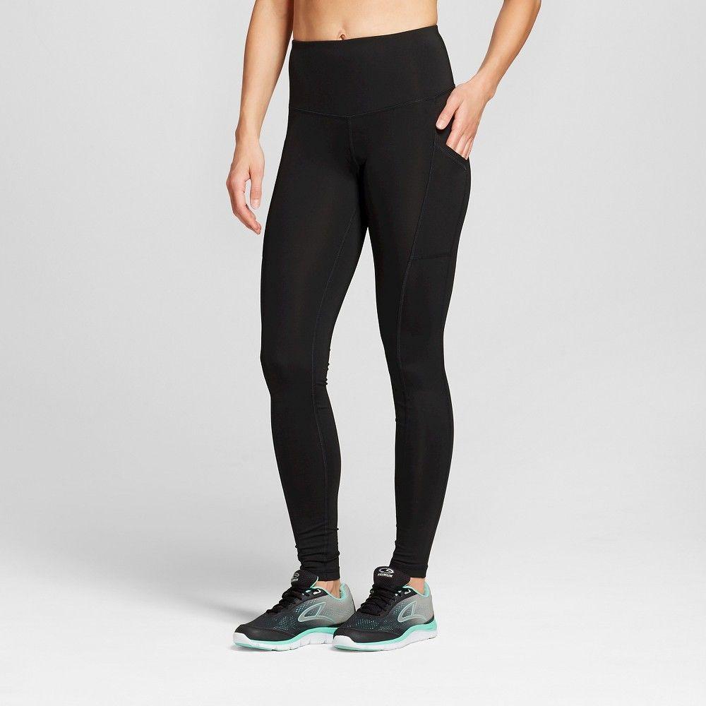 89714dcf1511 Women s Embrace High Waist Leggings - Black XS-Long - C9 Champion ...