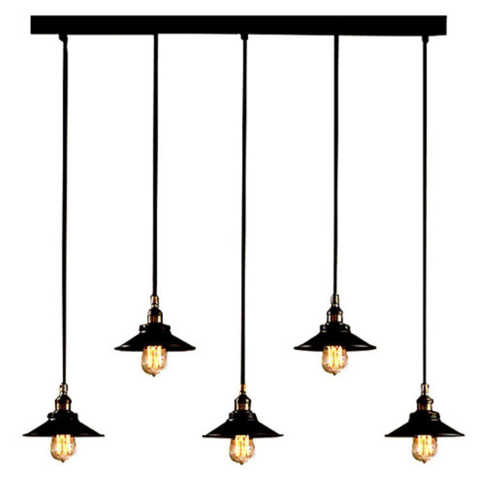 This Gorgeous Industrial Rustic Edison Bulb Adjustable