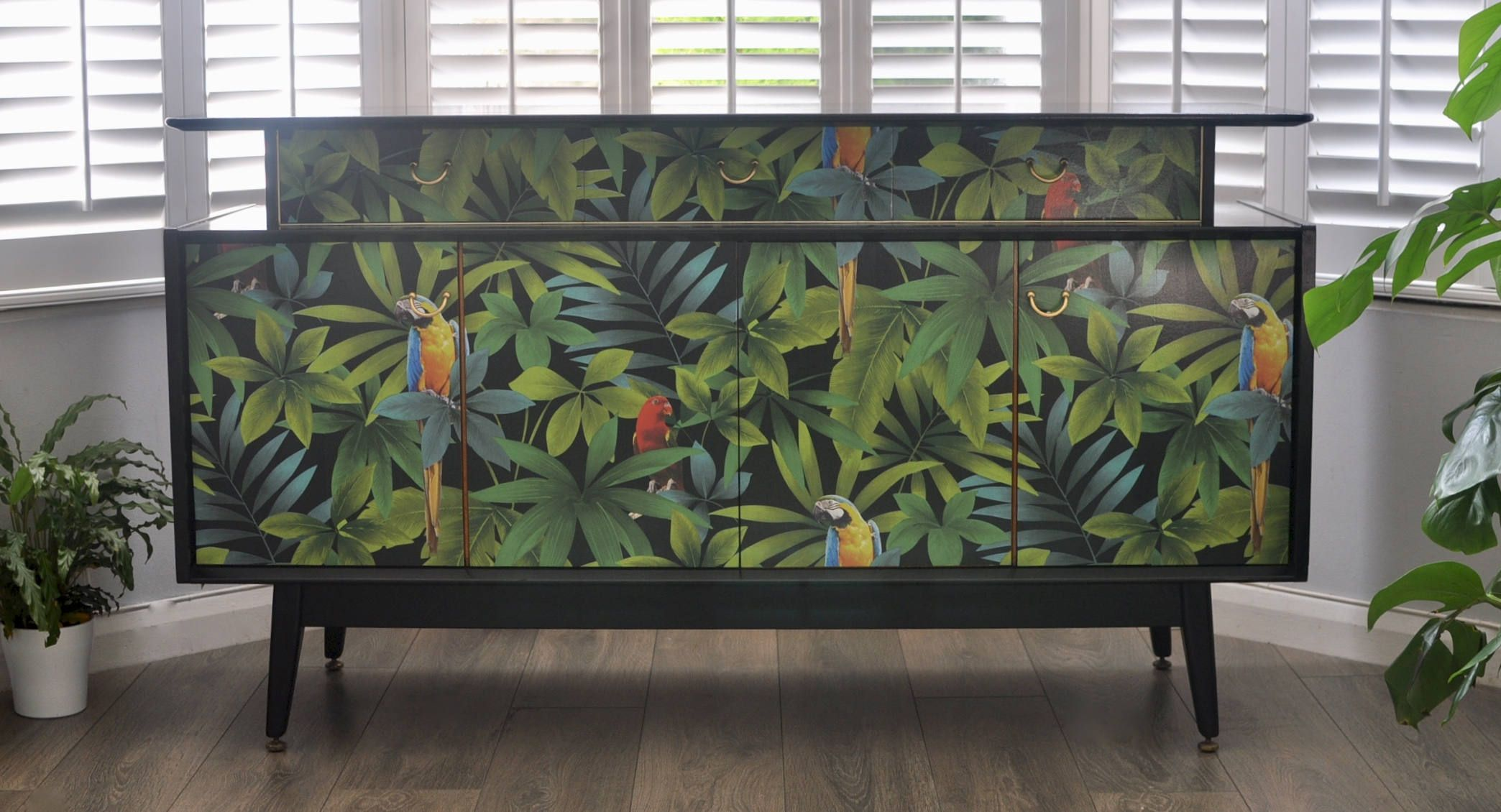 Upcycled Mid Century Vintage Retro G Plan E Gomme Sideboard In  # Rewind Muebles Vintage