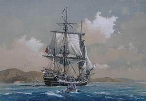 Charles Darwin S Ship Hms Beagle Yates Clasicos Barcos