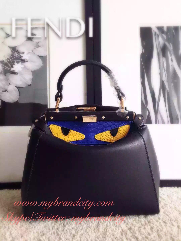 41829b88deb4 Peekaboo - Fendi ~ look at its monster eyes! NEW at online store ...