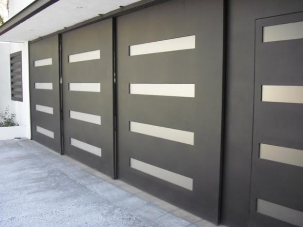 Puertas metalicas y ornamentacion acero colombia for Casa moderna bogota