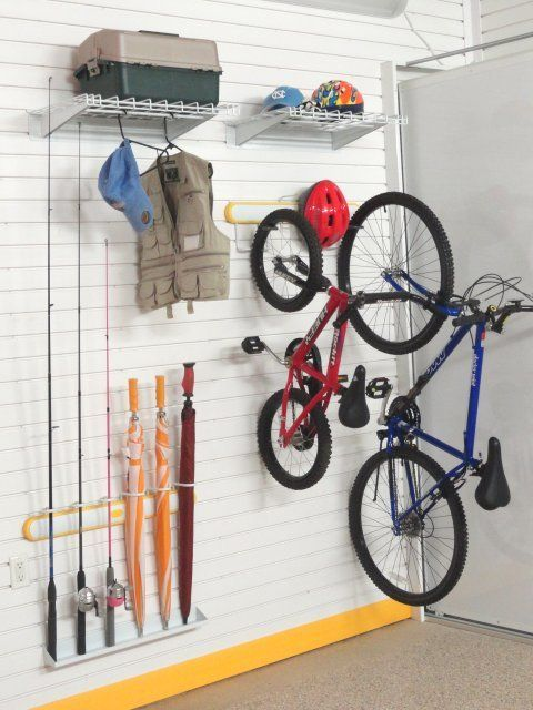 Vertical Bike Stick Racks Lifestyle Kit Version I With Images