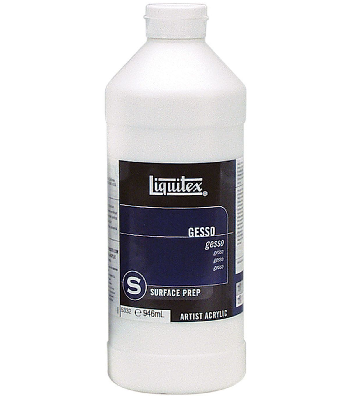 Liquitex Acrylic Gesso Surface Prep 32oz White Liquitex Matte