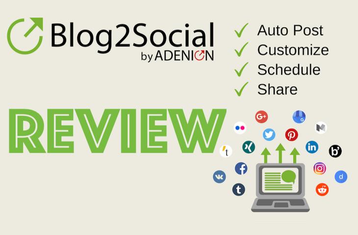 Blog2Social review zo gebruik ik de plugin Blog, Apps