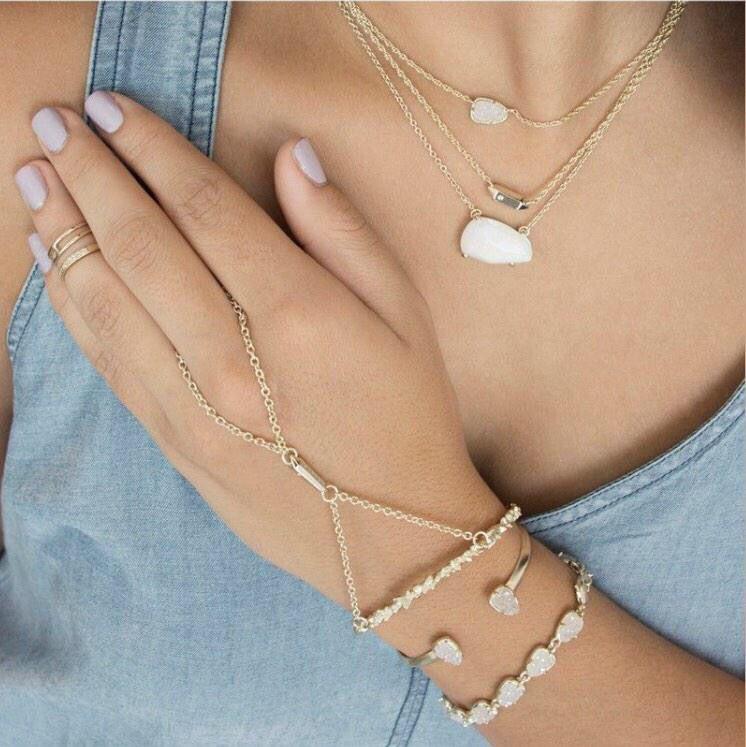 kendra Kendra scott jewelry, Delicate layered necklace