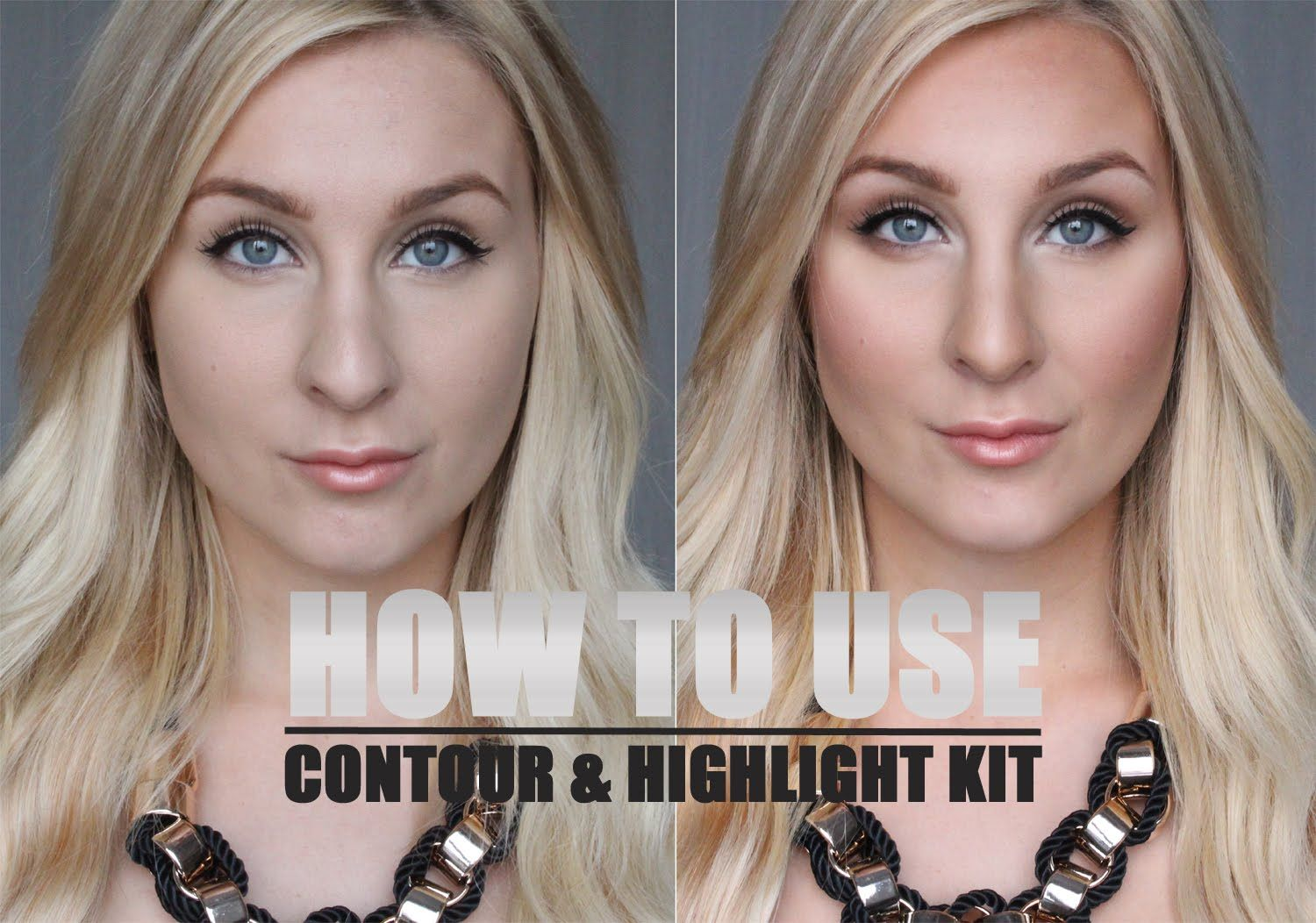 HOW TO USE - Contour & highlight kit  - Helen