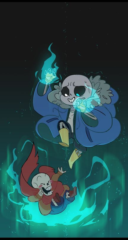 aw, babies. Did his jacket come from Gaster?