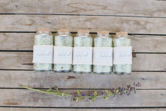 12 Super Easy DIY Favors to Make for a Large Wedding via Brit + Co