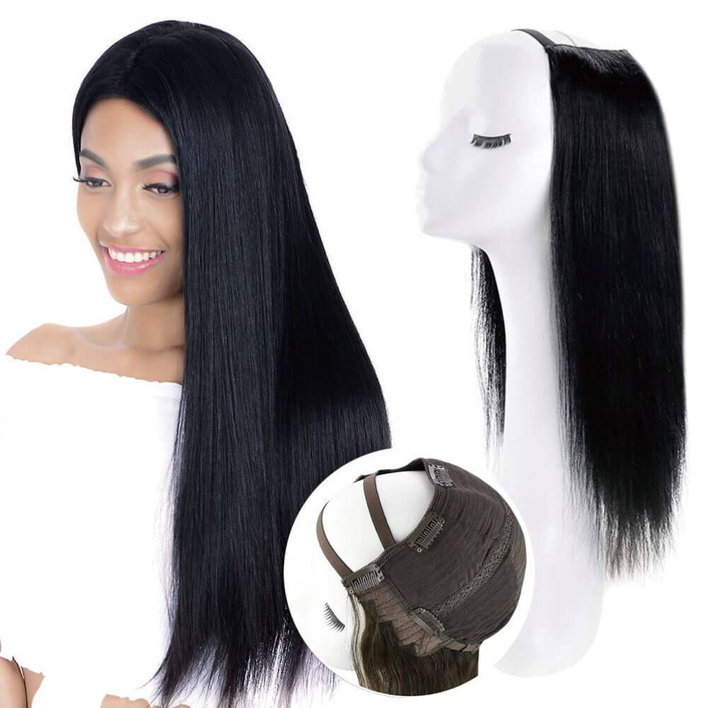 100g U Part Wig Volume Hair Extensions Customized Colors   Highlight Color / 18\ Gallery