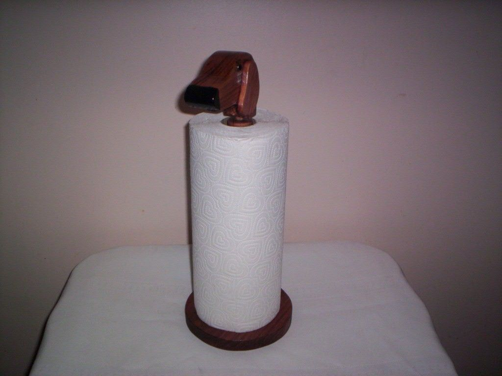 Dachshund Paper Towel Holder Gorgeous Dachshund Paper Towel Holder Table Top Handcrafted  Dogs Design Inspiration