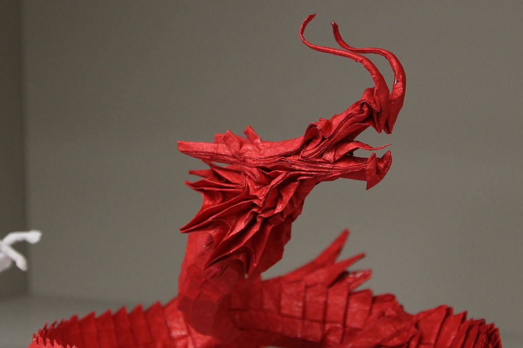Chinese Dragon Chinese Dragon Origami And Dragons