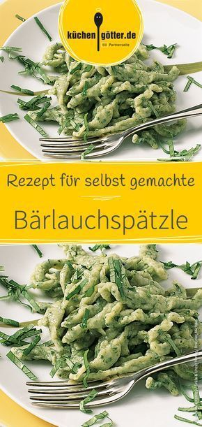 Bärlauchspätzle #garlicshrimprecipes